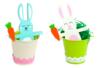 Herbe en frisettes de papier - couleurs au choix - Paille et Raphia – 10doigts.fr