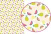 Magic Paper auto-adhésif Fruits exotiques - Décorations Printemps - Eté – 10doigts.fr