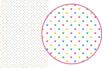 Magic Paper auto-adhésif Pois multicolores - Washi paper / Magic paper - 10doigts.fr