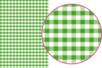 Magic Paper auto-adhésif Vichy vert - Magic Paper – 10doigts.fr