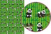 Magic Paper auto-adhésif Pandas - Magic Paper – 10doigts.fr
