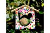 Mangeoire en bois pour oiseaux à suspendre - Nichoirs – 10doigts.fr