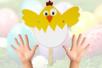 Marionnette Poussin - Pâques – 10doigts.fr