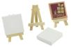 Mini chevalet avec toile - Toiles classiques – 10doigts.fr