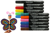 Marqueurs peinture pour Bois, Cartons, Terre cuite... - Marqueurs peintures - 10doigts.fr