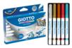 Marqueurs multi-supports GIOTTO DECOR - Stylos métallisés – 10doigts.fr