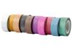 Masking tape pailleté - 10 rouleaux assorties - Adhésifs colorés et Masking tape - 10doigts.fr