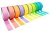 Masking tape couleurs assorties - 10 rouleaux - Rubans et adhésifs – 10doigts.fr