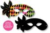 Loup vénitien en carte à gratter - Carnaval, fêtes, masques – 10doigts.fr