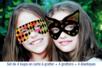 Masques loups en carte à gratter + accessoires - 4 pcs - Carte à gratter - 10doigts.fr