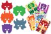 Masques à décorer - Carnaval, fêtes, masques – 10doigts.fr