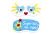 Masque de sommeil à décorer - Coton, lin – 10doigts.fr