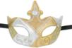 """Masque vénitien rigide forme """"couronne"""" - Masques – 10doigts.fr"""
