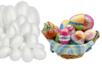 Maxi Pack Oeufs en polystyrène - 60 oeufs assortis - Formes de fêtes – 10doigts.fr