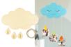 Porte-photo nuage - Cadres photos en bois – 10doigts.fr