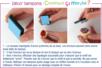Encreur noire à séchage rapide waterproof - Encreurs – 10doigts.fr