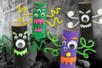 monstres halloween rouleau carton papier toilette - Tête à Modeler