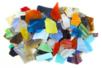 Mosaïques multicolores en verre poli - 2 kg - Mosaïques verre – 10doigts.fr