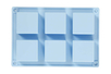 Moule en silicone - 6 cubes - Moules en silicone – 10doigts.fr