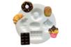 "Moule silicone ""Gourmandises"" - 5 formes - Décorations Fimo – 10doigts.fr"