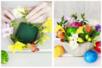 Brique de mousse florale décorative - Pailles et mousses – 10doigts.fr