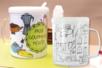 Mug à décorer - Plastique Transparent – 10doigts.fr