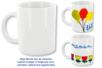 Mug en porcelaine blanche - Tutos Fête des Mères – 10doigts.fr