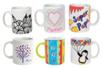 Mug en porcelaine blanche - Supports en Céramique et Terre Cuite – 10doigts.fr