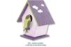 Nichoir à oiseaux en bois à poser - 9,5 cm - Nichoirs – 10doigts.fr