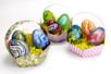 Oeufs de Pâques marbrés - Pâques – 10doigts.fr