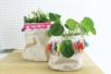 Paniers coton à décorer - Set de 2 - Coton, lin – 10doigts.fr