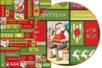 Décopatch N°725 - Set de 3 feuilles - Papier fêtes – 10doigts.fr