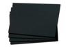 Feuilles noires 29,7 x 42 cm - 50 feuilles - Papiers Unis – 10doigts.fr