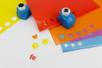 Papiers adhésifs pour gommettes -10 feuilles - Stickers Fantaisies – 10doigts.fr