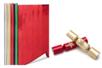 Papier métallisé, verso blanc (2 mètres) - Couleurs au choix - Papier effet métallisé, pailleté, nacré – 10doigts.fr