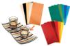 Papier décoratif pour supports lisses (verre, porcelaine, métal) - Décorations en papier - 10doigts.fr
