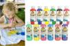 Peinture textiles, couleurs classiques ou nacrées - 250 ml - Peinture Tissu - 10doigts.fr