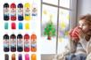 Peinture pour vitres et fenêtres - 500 ml - Peinture Verre et Faïence – 10doigts.fr