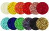 Perles en verre, tissage Peyote - Set de 12 couleurs - Tissage de perles – 10doigts.fr