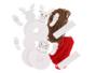 Kit Personnages de Noël pompon - Set de 2 - Centre de table – 10doigts.fr