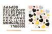 Transferts Textiles – Lettres et coeurs - Transferts et Thermocollants – 10doigts.fr
