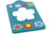 Planchette pense-bête avec bloc fantaisie et fleurs papier - Fête des Mères – 10doigts.fr