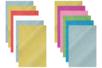 Caoutchouc souple pailleté - 6 plaques adhésives - Tous les papiers adhésifs - 10doigts.fr