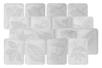 Plaques dessin relief feuilles d'arbres - Set de 16 - Plaque relief – 10doigts.fr