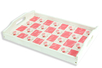 Papiers à encoller camaieu rose - 3 feuilles - Papiers Vernis-collage – 10doigts.fr