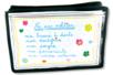 Pochette à personnaliser - Support textile à customiser – 10doigts.fr