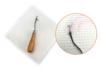 Toile smyrne pour point noué blanche - Support textile à customiser – 10doigts.fr