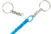 Porte-clés à anneaux avec chaîne - Lot de 25 - Porte-clés pour bijoux – 10doigts.fr