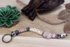 Perles artisanales Troja en céramique - 40 perles - Pierres semi précieuses et minérales – 10doigts.fr