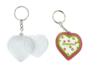 Porte-clés en plastique transparent à personnaliser - Plastique Transparent – 10doigts.fr